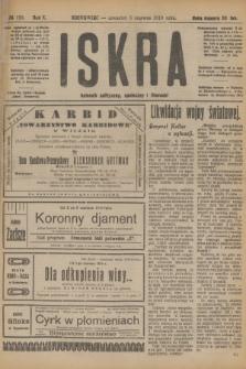 Iskra : dziennik polityczny, społeczny i literacki. R.10, № 123 (5 czerwca 1919)