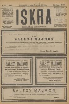 Iskra : dziennik polityczny, społeczny i literacki. R.10, № 125 (7 czerwca 1919)