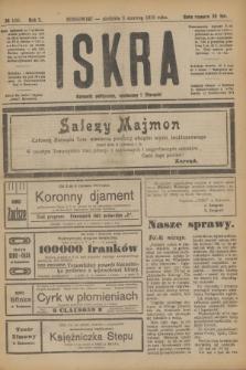 Iskra : dziennik polityczny, społeczny i literacki. R.10, № 126 (8 czerwca 1919) + dod.