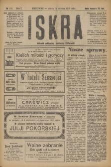 Iskra : dziennik polityczny, społeczny i literacki. R.10, № 130 (14 czerwca 1919)