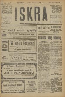 Iskra : dziennik polityczny, społeczny i literacki. R.10, № 131 (15 czerwca 1919)