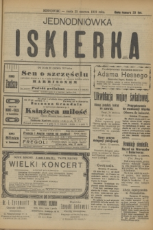 Jednodniówka Iskierka. R.10, (25 czerwca 1919)