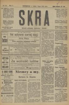 Skra : dziennik polityczny, społeczny i literacki. R.10, № 135 (2 lipca 1919)