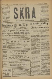Skra : dziennik polityczny, społeczny i literacki. R.10, № 155 (26 lipca 1919)
