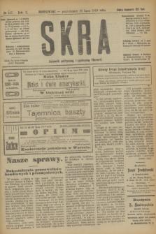 Skra : dziennik polityczny, społeczny i literacki. R.10, № 157 (28 lipca 1919)