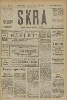 Skra : dziennik polityczny, społeczny i literacki. R.10, № 159 (31 lipca 1919)