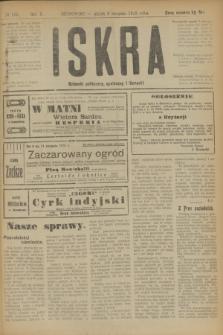 Iskra : dziennik polityczny, społeczny i literacki. R.10, № 166 (8 sierpnia 1919)