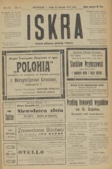 Iskra : dziennik polityczny, społeczny i literacki. R.10, № 177 (20 sierpnia 1919)