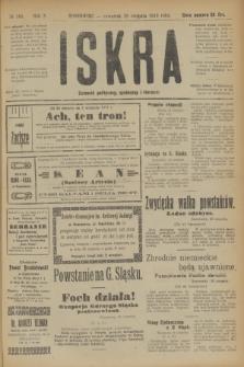 Iskra : dziennik polityczny, społeczny i literacki. R.10, № 185 (28 sierpnia 1919)