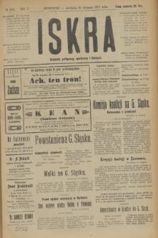 Iskra : dziennik polityczny, społeczny i literacki. R.10, № 188 (31 sierpnia 1919)