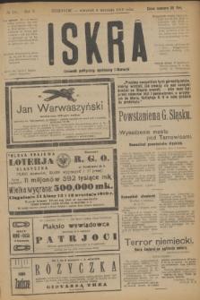 Iskra : dziennik polityczny, społeczny i literacki. R.10, № 191 (4 września 1919)