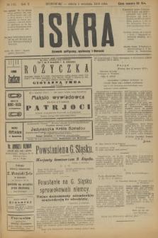Iskra : dziennik polityczny, społeczny i literacki. R.10, № 193 (6 września 1919)