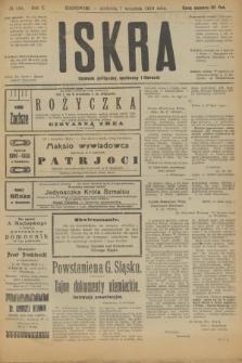 Iskra : dziennik polityczny, społeczny i literacki. R.10, № 194 (7 września 1919)
