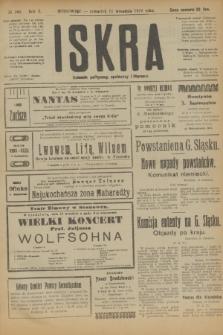 Iskra : dziennik polityczny, społeczny i literacki. R.10, № 198 (11 września 1919)