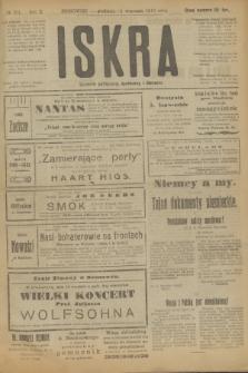 Iskra : dziennik polityczny, społeczny i literacki. R.10, № 201 (14 września 1919)