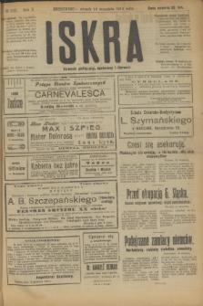 Iskra : dziennik polityczny, społeczny i literacki. R.10, № 202 (16 września 1919)