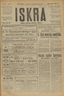 Iskra : dziennik polityczny, społeczny i literacki. R.10, № 205 (19 września 1919)