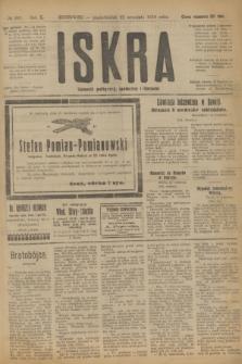Iskra : dziennik polityczny, społeczny i literacki. R.10, № 207 (22 września 1919)