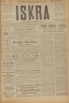 Iskra : dziennik polityczny, społeczny i literacki. R.10, № 208 (23 września 1919)