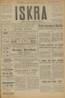 Iskra : dziennik polityczny, społeczny i literacki. R.10, № 209 (24 września 1919)