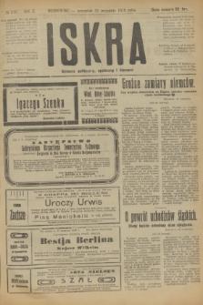 Iskra : dziennik polityczny, społeczny i literacki. R.10, № 210 (25 września 1919)