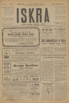 Iskra : dziennik polityczny, społeczny i literacki. R.10, № 212 (27 września 1919)