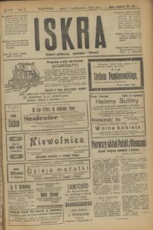 Iskra : dziennik polityczny, społeczny i literacki. R.10, № 218 (3 października 1919)