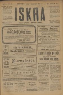 Iskra : dziennik polityczny, społeczny i literacki. R.10, № 219 (4 października 1919)