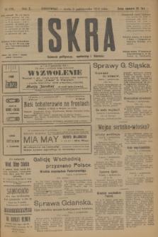 Iskra : dziennik polityczny, społeczny i literacki. R.10, № 223 (8 października 1919)