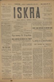 Iskra : dziennik polityczny, społeczny i literacki. R.10, № 225 (10 października 1919)