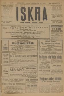 Iskra : dziennik polityczny, społeczny i literacki. R.10, № 226 (11 października 1919)