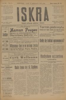 Iskra : dziennik polityczny, społeczny i literacki. R.10, № 230 (15 października 1919)