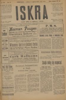 Iskra : dziennik polityczny, społeczny i literacki. R.10, № 233 (18 października 1919)