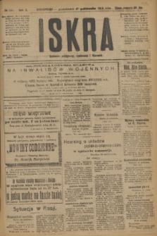 Iskra : dziennik polityczny, społeczny i literacki. R.10, № 241 (27 października 1919)
