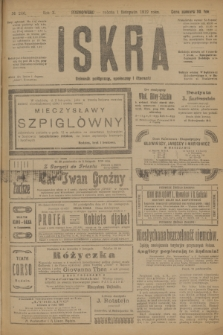 Iskra : dziennik polityczny, społeczny i literacki. R.10, № 246 (1 listopada 1919)