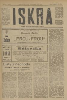 Iskra : dziennik polityczny, społeczny i literacki. R.10, № 249 (5 listopada 1919)
