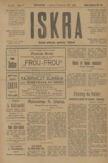 Iskra : dziennik polityczny, społeczny i literacki. R.10, № 252 (8 listopada 1919)