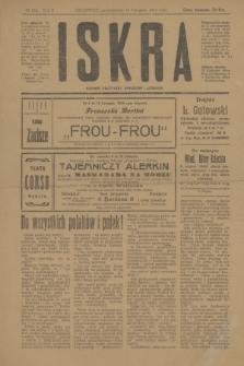 Iskra : dziennik polityczny, społeczny i literacki. R.10, № 254 (10 listopada 1919)