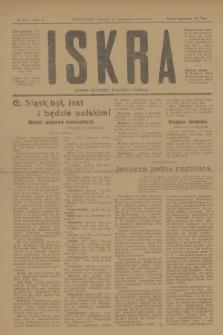 Iskra : dziennik polityczny, społeczny i literacki. R.10, № 255 (11 listopada 1919)