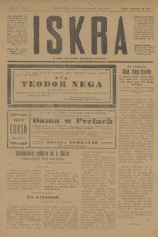 Iskra : dziennik polityczny, społeczny i literacki. R.10, № 256 (12 listopada 1919)