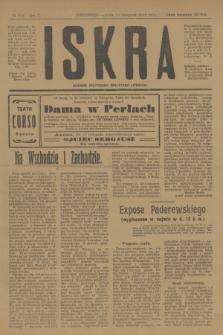 Iskra : dziennik polityczny, społeczny i literacki. R.10, № 259 (15 listopada 1919)