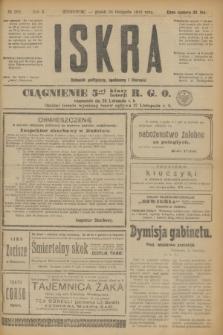 Iskra : dziennik polityczny, społeczny i literacki. R.10, № 268 (28 listopada 1919)