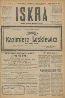 Iskra : dziennik polityczny, społeczny i literacki. R.10, № 270 (30 listopada 1919)