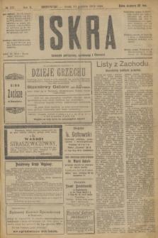 Iskra : dziennik polityczny, społeczny i literacki. R.10, № 277 (10 grudnia 1919)