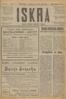 Iskra : dziennik polityczny, społeczny i literacki. R.10, № 281 (14 grudnia 1919) + dod.