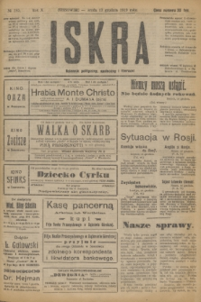 Iskra : dziennik polityczny, społeczny i literacki. R.10, № 285 (17 grudnia 1919)