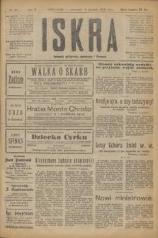 Iskra : dziennik polityczny, społeczny i literacki. R.10, № 286 (18 grudnia 1919)