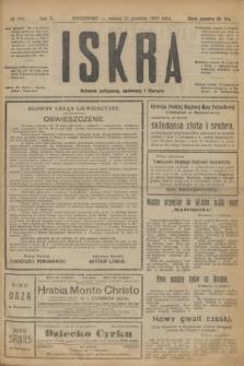 Iskra : dziennik polityczny, społeczny i literacki. R.10, № 288 (20 grudnia 1919)
