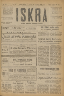 Iskra : dziennik polityczny, społeczny i literacki. R.10, № 291 (23 grudnia 1919)