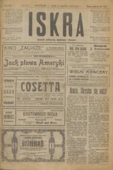 Iskra : dziennik polityczny, społeczny i literacki. R.10, № 292 (24 grudnia 1919)